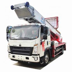 HOWO 38 m 45 m ladder lift truck