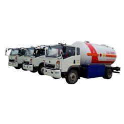 HOWO 8000liter to 10000liter lpg truck