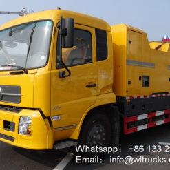 Hot regeneration repair truck