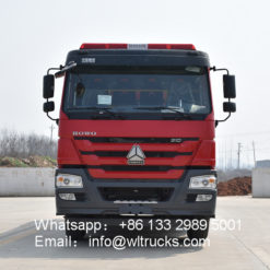 Howo 8 ton 10 ton fire truck