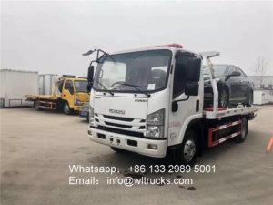 ISUZU 100P Wrecker tow truck picture
