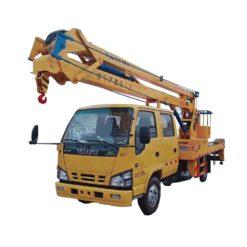 ISUZU 18m aerial platform truck