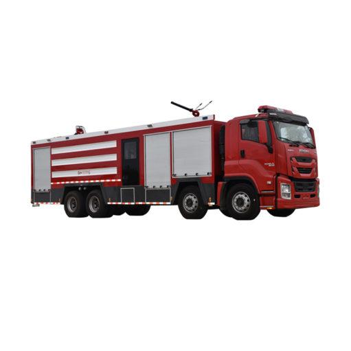 ISUZU 25 ton Dry powder water foam combined fire truck