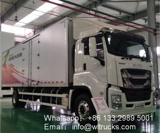 ISUZU 25 ton to 30 ton refrigerated truck