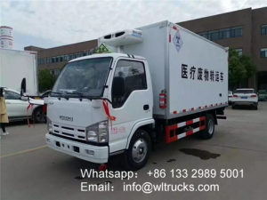 ISUZU 3 ton Medical Waste Transfer Truck