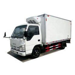 ISUZU 3 ton van refrigerated truck