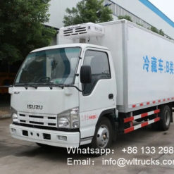 ISUZU 3 ton van refrigerated trucks
