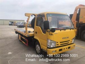ISUZU 3 ton wrecker truck
