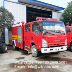 ISUZU 5000L Foam fire truck