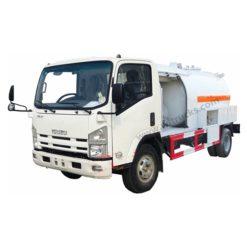 ISUZU 5000liter to 8000liter lpg storage tank truck