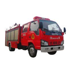 ISUZU 600p 3 ton to 5 ton Foam fire truck