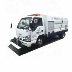 ISUZU ELF 5000 liter mobile street washing truck