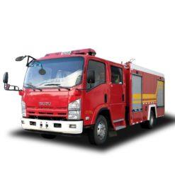 ISUZU ELF 700P 5000L Foam fire truck