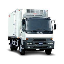 ISUZU FTR 10 ton to 15ton 24ft meat and fish transport refrigerator truck