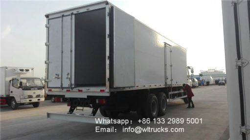 ISUZU FVZ 18ton refrigerated truck