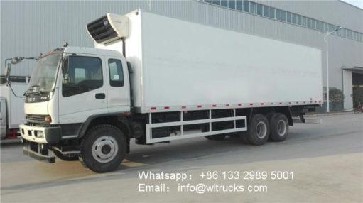 ISUZU FVZ 20ton food refrigerated truck