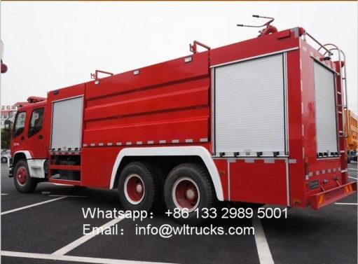 ISUZU FVZ fire fighter truck