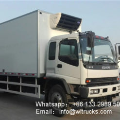 ISUZU FVZ refrigerated truck