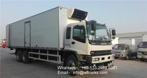 ISUZU FVZ refrigerated truck