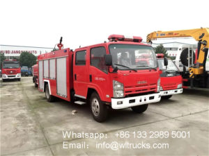ISUZU Fire fighting truck