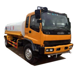 ISUZU fvr 15000liters water tank truck