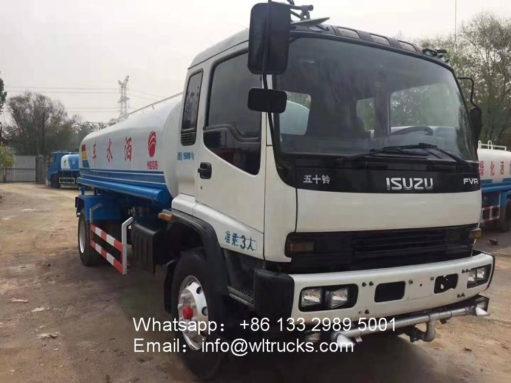 ISUZU fvr 15000liters water truck