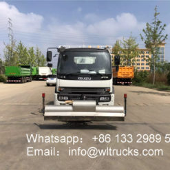 ISUZU high pressure cleaning truck