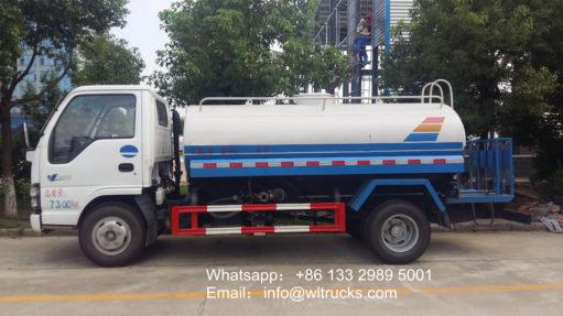 ISUZU water delivery trucks