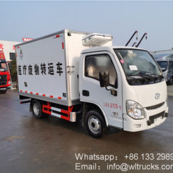 IVECO Yuejin 2 ton mini Medical waste truck