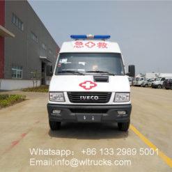 Italy iveco icu ambulance