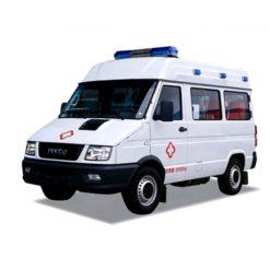 Italy iveco icu ambulance emergency rescue vehicle