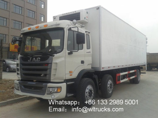 JAC 16 ton to 20ton Meat/Vegetable/Fruit Refrigerator Truck