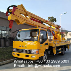 JAC 16m to 18m aerial platform truck