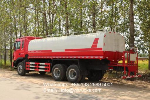 JAC 20000liters water tanker truck