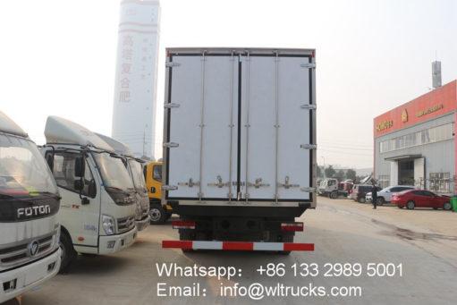 JAC 25 ton refrigerator box truck