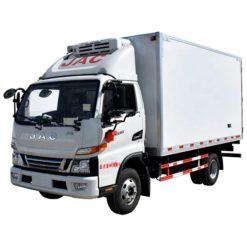 JAC 3 ton box refrigerated truck