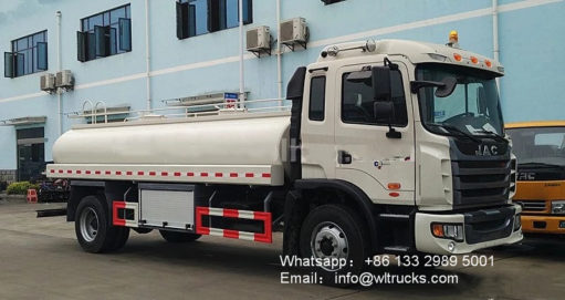JAC 3000 gallon to 4000 gallon water truck