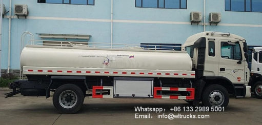 JAC 3000 gallon water truck