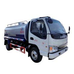 JAC 5m3 water tanker truck