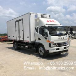 JAC 8 ton 20ft refrigerator truck