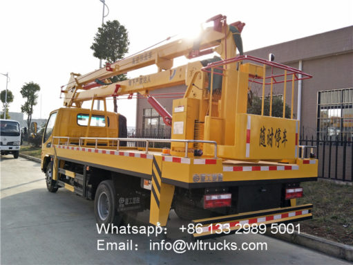 JAC aerial platform truck