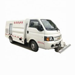 JAC small 1500 liter garbage can cleaning truck