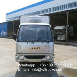 JAC small refrigerator box trucks