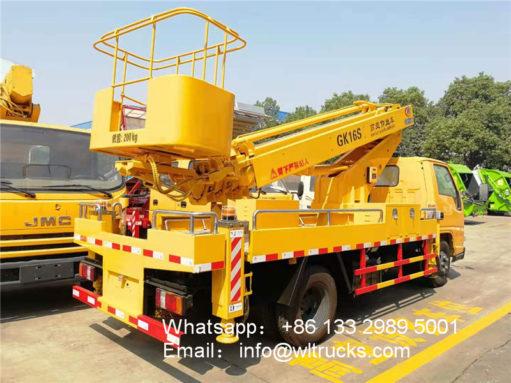 JMC 14 meter to 16 meter aerial platform truck