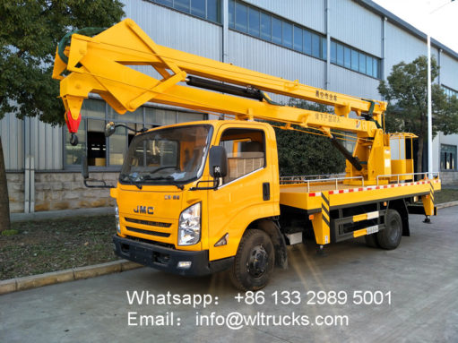 JMC 18m aerial working platform trucks