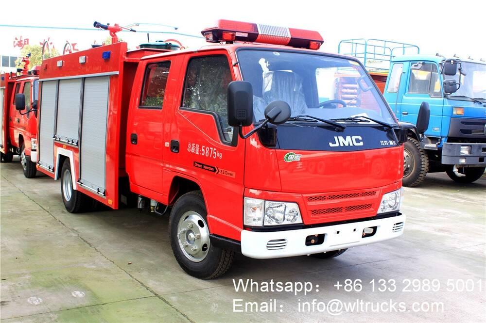 JMC 2 ton water tank fire truck