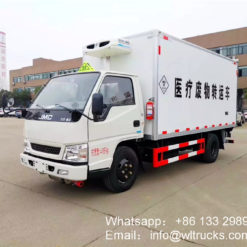 JMC 3 ton medical waste collection trucks