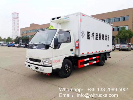 JMC 3 ton medical waste collection trucks