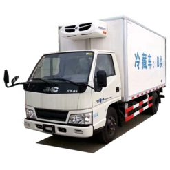 JMC 3 ton refrigerated container truck