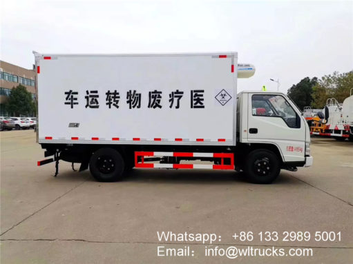 JMC 3 ton waste collection truck
